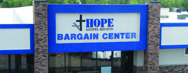 Picture of the Bargain Center