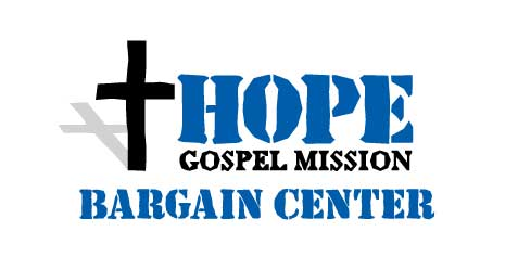 Logo of Hope Gospel Mission's Bargain Center