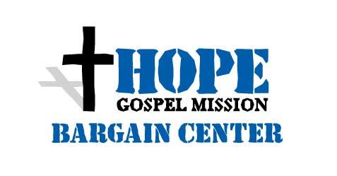 Logo of Hope Gospel Mission's Bargain Center