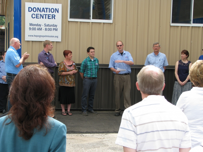 Craig Pedersen, Director of Business Operations, talks about the importance of the new donation center