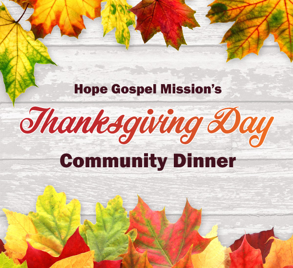 Thanksgiving Community Dinner
