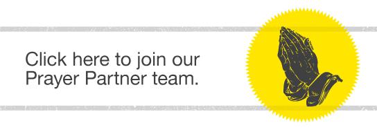 Join our Prayer Partner Team