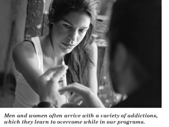 Photo of woman doing drugs