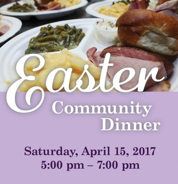 Easter Community Dinner