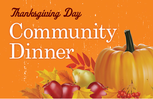 Thanksgiving Day Community Dinner